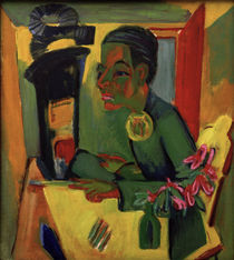Ernst Ludwig Kirchner / The Painter by AKG  Images