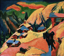 Ernst Ludwig Kirchner / Snow at the Stafelalp. by AKG  Images