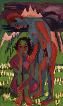 E.L.Kirchner / Black Spring by AKG  Images