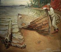 Gallen-Kallela / The Despairing Boat by AKG  Images