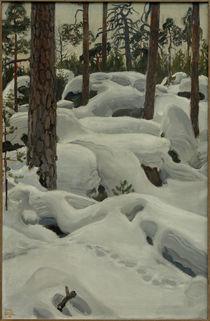 A.Gallen-Kallela, Die Höhle des Luchses von AKG  Images