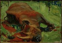 A.Gallen-Kallela, Erlegtes Rhinozeros by AKG  Images