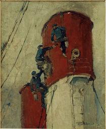 L.Sandrock, Schornstein eines Dampfers von AKG  Images
