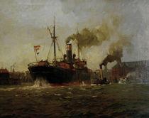 L.Sandrock, Ausgehender Dampfer von AKG  Images