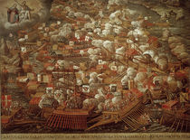 Battle of Lepanto 1571 / contemporary ptg by AKG  Images
