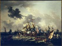 Schlacht in der Zuidersee 1573 / Storck von AKG  Images