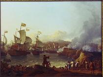 Seeschlacht bei Vigo 1702 / L.Bakhuysen von AKG  Images