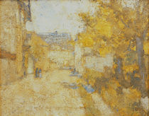 Street in Weimar / C. Rohlfs / Painting 1889 by AKG  Images