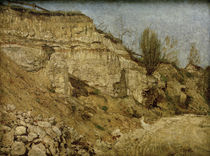 Quarry near Weimar / C. Rohlfs / Painting c.1887 by AKG  Images