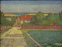 Houses in Weimar / C. Rohlfs / Painting 1903 by AKG  Images