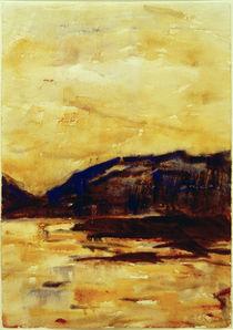 C.Rohlfs, Goldenes Abendlicht am Lago Maggiore von AKG  Images