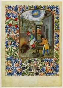 Dresden Prayer Book / December / ca. 1500 by AKG  Images