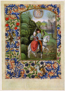 Dresden Prayer Book / April /  c. 1500 by AKG  Images