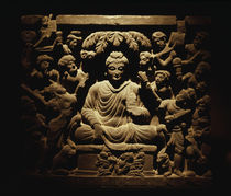 Temptation of Buddha / Ind. Relief / C3rd by AKG  Images