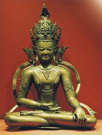 Akshobhya / tibetische Skulptur von AKG  Images