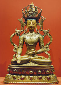 Ratnasambhava / Tibetan by AKG  Images