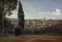 C.Corot / Florenz v. d. Boboli-Gärten aus von AKG  Images