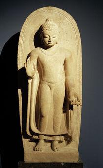 Stehender Buddha / indische Plastik von AKG  Images