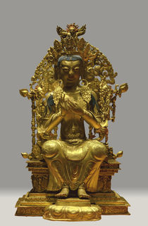 Maitreya / Mongolian, 18th century by AKG  Images