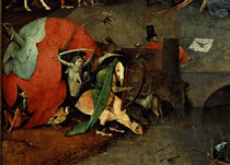 The Temptation of St Anthony / H. Bosch / Triptych, 1500–1516 by AKG  Images