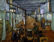 van Gogh / Ward in Arles Hospital / 1889 by AKG  Images