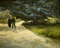 V. van Gogh, Public Garden w. Couple /1888 by AKG  Images