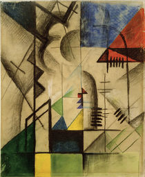 August Macke, Abstrakte Formen, 1913 von AKG  Images
