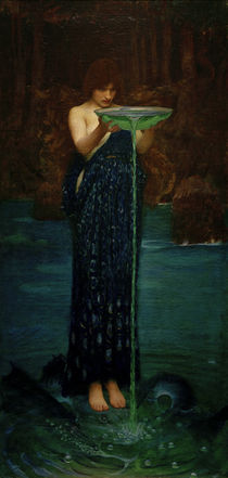 J.W.Waterhouse, Circe Invidiosa von AKG  Images