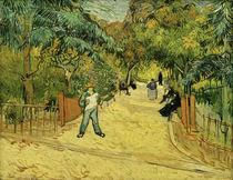 V. van Gogh, Eingang zum Park in Arles von AKG  Images