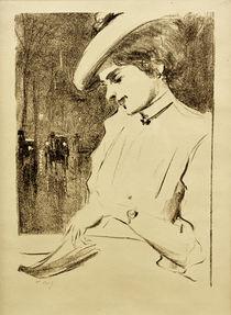 L.Ury, Lesender Mann by AKG  Images