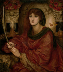 Rossetti / Sibylla Palmifera / Painting by AKG  Images