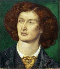 A.C.Swinburne / Zeichnung v. D.G.Rossetti von AKG  Images