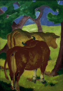 Marc / Cows under trees / 1910–11 by AKG  Images