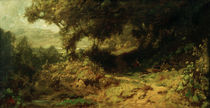 Forest Landscap / C. Spitzweg / Painting c.1870 by AKG  Images