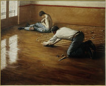 Caillebotte / Floor Planers / Painting by AKG  Images