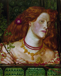 Rosamund Clifford / painting by Rossetti by AKG  Images