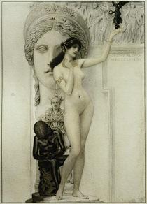 G.Klimt, Allegorie der Skulptur by AKG  Images