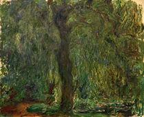 Claude Monet / Willow Tree / Painting by AKG  Images