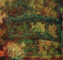 Claude Monet / The Japanese Bridge by AKG  Images