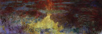 Claude Monet / Waterlily pond in evening by AKG  Images
