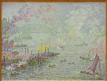 P.Signac, Hafen von Rotterdam von AKG  Images