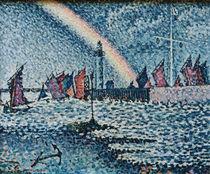 P.Signac / Port entry at Honfleur / 1899 by AKG  Images