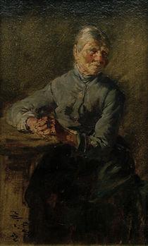 Wilhelm Busch, Alte Frau von AKG  Images