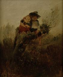 W.Busch, Kinder auf Weidenstumpf by AKG  Images