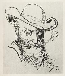 Wilhelm Busch / Selbstporträt, 1894 by AKG  Images