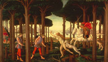 Botticelli / Story of Nastagio I / 1483 by AKG  Images
