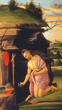Botticelli, Hieronymus in der Wüste von AKG  Images