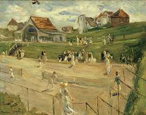 M.Liebermann, Tennisplatz in Noordwijk von AKG  Images
