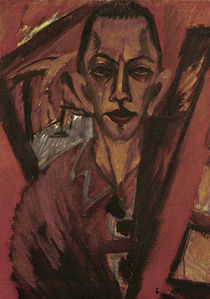 Ernst Ludwig Kirchner / Self-Portrait by AKG  Images