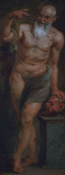 P.P.Rubens, Satyr / Painting /  c. 1636/38 by AKG  Images